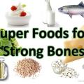 10 Super Alimentos para huesos fuertes