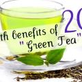 20 Beneficios para la salud del té verde