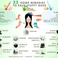 23 remedios caseros para aliviar la nariz tapada