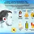 8 mejores remedios caseros para deshacerse de oído de nadador