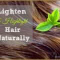 12 maneras de aligerar y resaltar su pelo natural