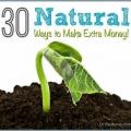 30 maneras naturales de ganar dinero extra