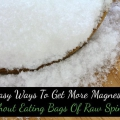 5 maneras fáciles de conseguir más magnesio sin comer bolsas de espinaca cruda
