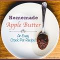 Una receta deliciosa mantequilla de manzana para su olla de barro