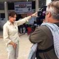 Equipo de noticias estadounidense expuesto a ébola puesto bajo aislamiento obligatorio después de romper directrices auto-cuarentena