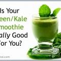 ¿Son batidos verdes primas realmente saludable?