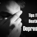 Los mejores consejos para vencer la depresión
