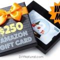 Sorteo: ganar una tarjeta de regalo de Amazon $ 250!