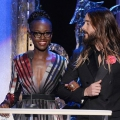 Jared leto, Lupita Nyong'o coqueteo supuestamente manchada, intensa pda en los premios SAG 2015 después de fiesta- rumores de citas confirmadas?