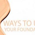 Consejos de maquillaje: 6 maneras originales para utilizar la base de maquillaje