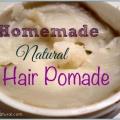 Pomada para el cabello no graso Natural y texturizador