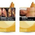 Advertencias sanitarias gráficas en cigarrillos está siendo empujado por el comité internacional sobre el control del tabaco