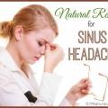 ,, Remedios caseros naturales simples para dolor de cabeza sinusal