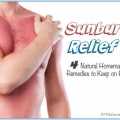 Alivio de quemaduras de sol: 4 remedios naturales para usar en casa