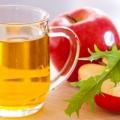 El vinagre de manzana para el eczema - la excelente remedio natural
