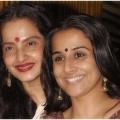 10 imágenes de Rekha sin maquillaje
