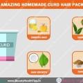 4 paquetes asombrosos cuajada casera para el cabello