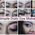 Un simple diario Ojo Tutorial Maquillaje - Con Pasos y Cuadros detallados