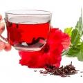 Beneficios asombrosos de la flor del hibisco de la salud, la belleza