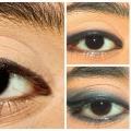 Increíble maquillaje de ojos con Kajal - tutorial paso a paso con imágenes