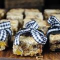 Albaricoque y nuez barras de granola