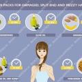 Los mejores paquetes de pelo caseras para dañada, split-end y pelos rizados