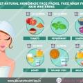 Las mejores mascarillas caseras naturales, mascarilla para blanquear la piel