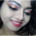 Bronce Ojo Tutorial Maquillaje - Con Pasos detallados e imágenes