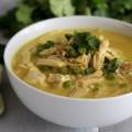 Cal coco sopa de pollo al curry