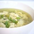 Sopa de huevo {lagunas, paleo y primarios}