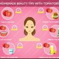 Consejos de belleza caseros con tomate - Cómo utilizar tomate para problemas de cuidado de la piel