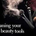 Cómo limpiar los pinceles y herramientas de maquillaje