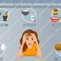 Cómo eliminar el vello facial no deseado con remedios caseros?