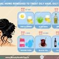 Natural remedios caseros para tratar el cabello graso, cuero cabelludo graso