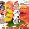 Top 10 beneficios para la salud de los melocotones