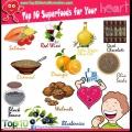 Top 10 superalimentos para el corazón