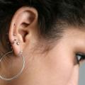 Top perforación del oído después de consejos para el cuidado