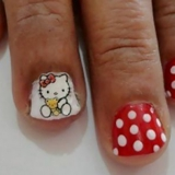 Nail Art Cartoon Tutorial - 3 pasos sencillos