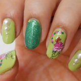 Elegant Nails Verdes - Tutorial