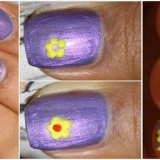 Nail flor simple Tutorial Arte