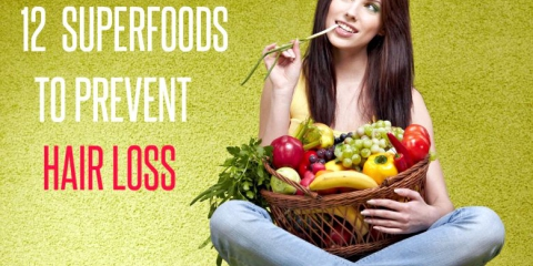 12 súper alimentos para prevenir la pérdida del cabello