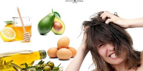 12 remedios caseros simples para el cabello seco