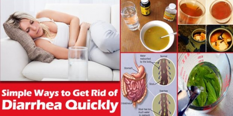 ¿Cómo deshacerse de la diarrea