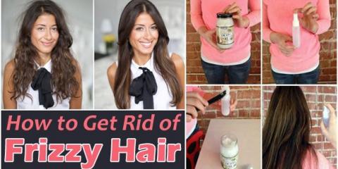 ¿Cómo deshacerse de pelo muy rizado