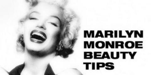 10 consejos de belleza de Marilyn Monroe