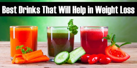 10 mejores bebidas que le ayudarán a perder peso
