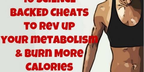 10 Ciencia respaldado trucos para acelerar su metabolismo y quemar más calorías