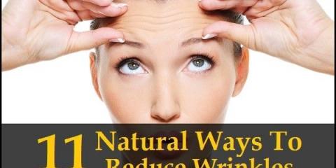 11 maneras naturales para reducir las arrugas