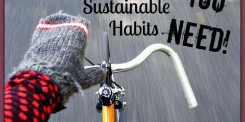 45 hábitos sostenibles simples que deben adoptar