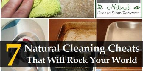 7 trucos de limpieza naturales que harán temblar su mundo